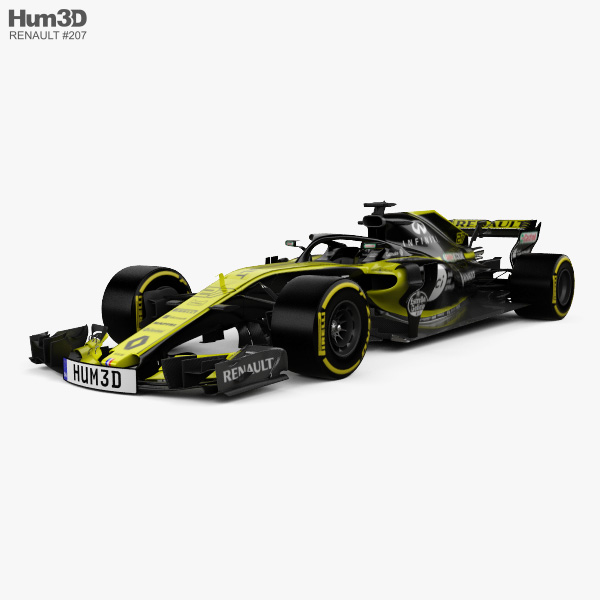 Renault R.S.18 2018 3D model