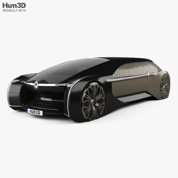 Renault EZ-Ultimo 2018 3D model