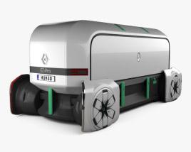 3D model of Renault EZ-PRO autonomous 2018