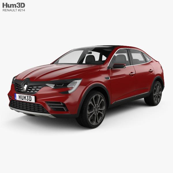 Renault Arkana concept 2018 3D model