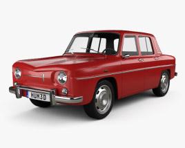 3D model of Renault 8 1962