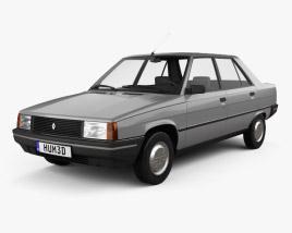 3D model of Renault 9 1983