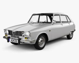 3D model of Renault 16 1965