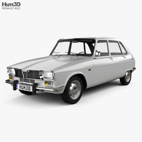 Renault 16 1965 3D model