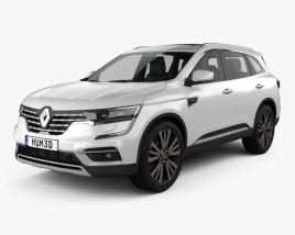3D model of Renault Koleos 2020