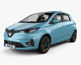 3D model of Renault Zoe 2020