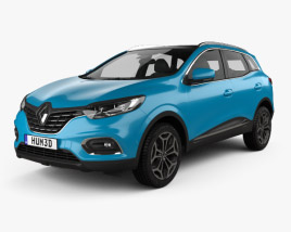 3D model of Renault Kadjar 2019