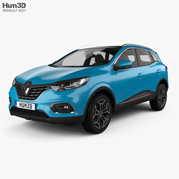Renault Kadjar 2019 3D model