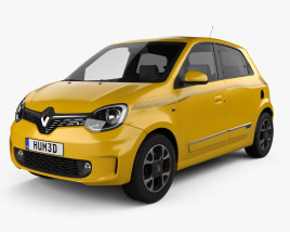3D model of Renault Twingo 2021