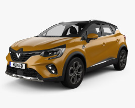 3D model of Renault Captur 2020