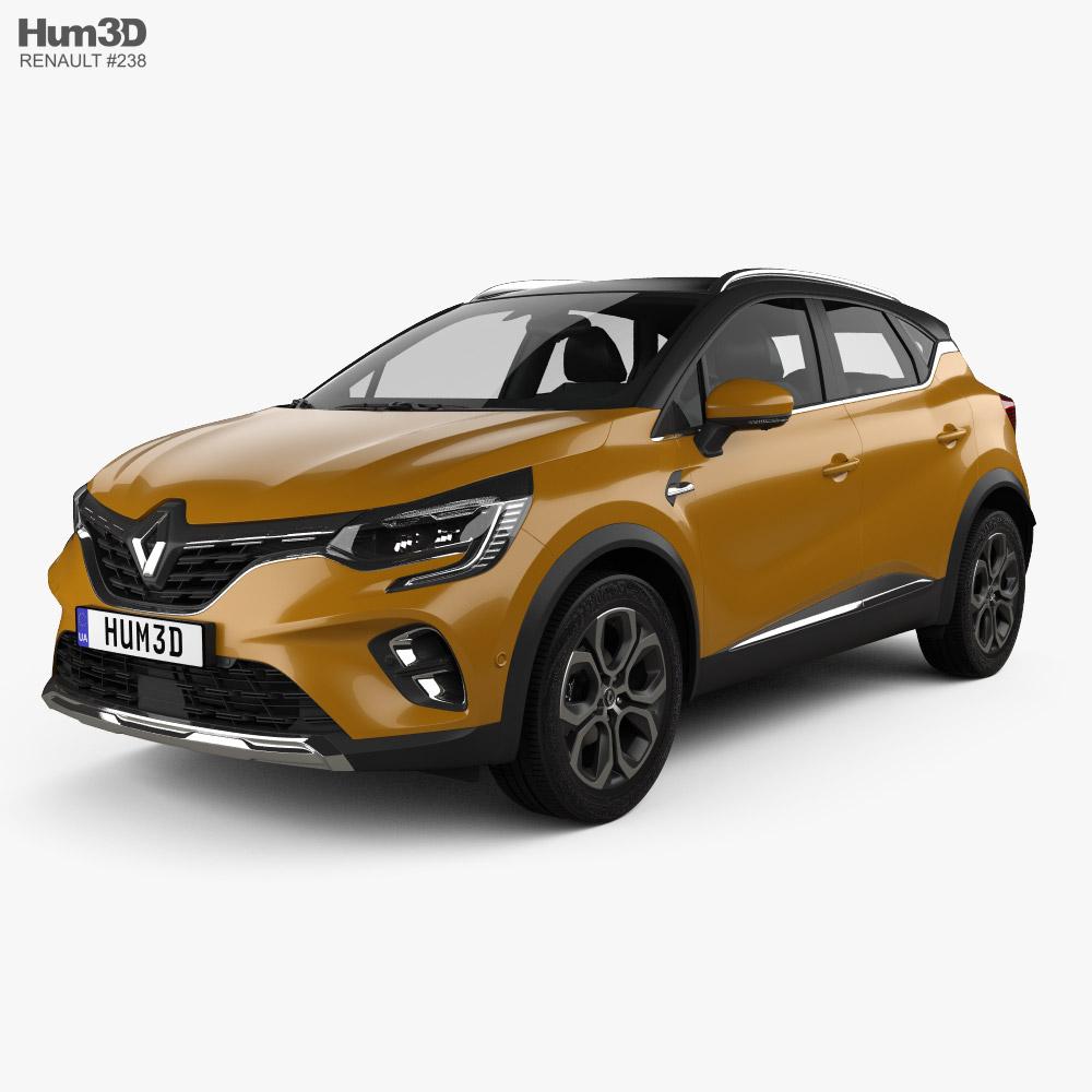 Renault Captur 2020 3D model