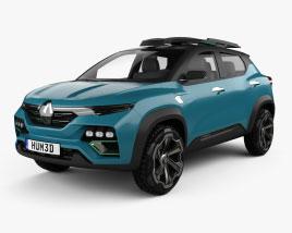 3D model of Renault Kiger 2020