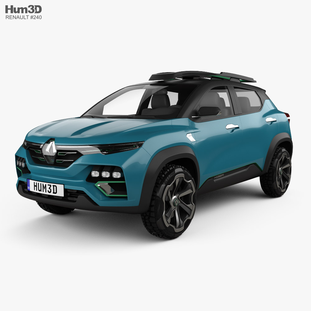 Renault Kiger 2020 3D model