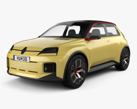 Renault 5 2021 3D model