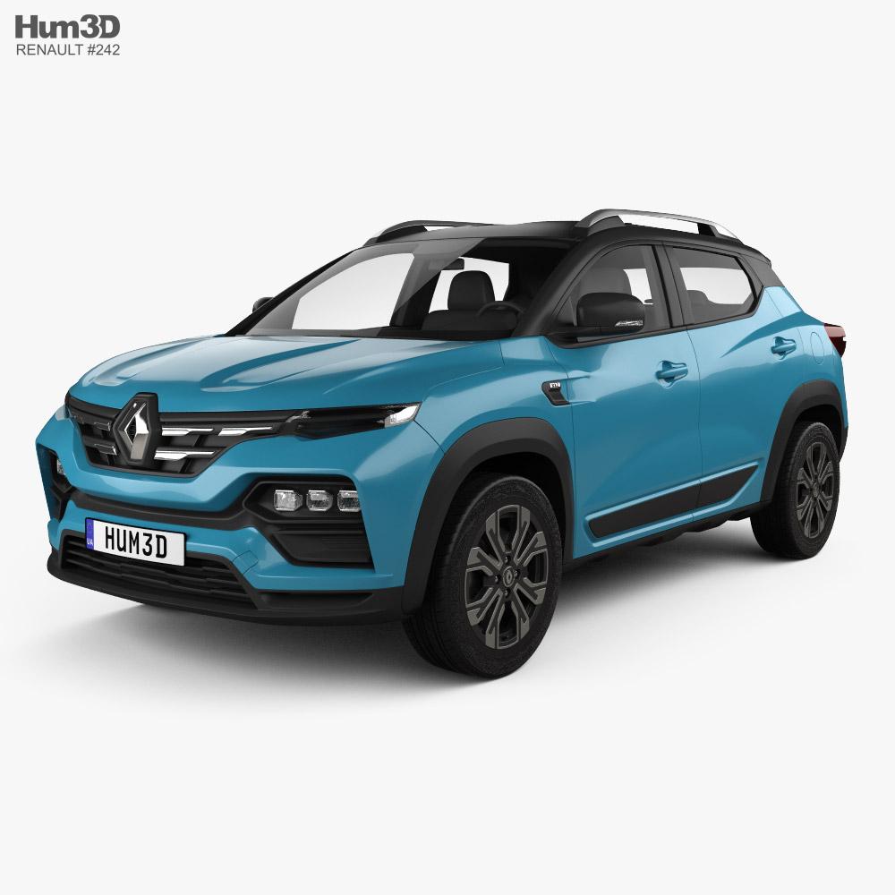 Renault Kiger 2021 3D model