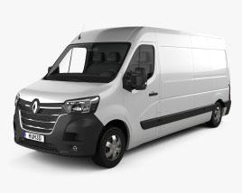 Renault Master Panel Van L3H2 2019 3D model