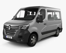 Renault Master Passenger Van L1H1 2019 3D model