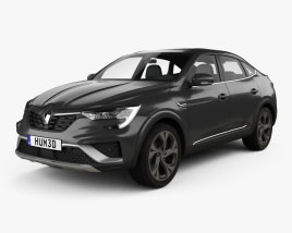 Renault Arkana RS-Line 2022 3D model