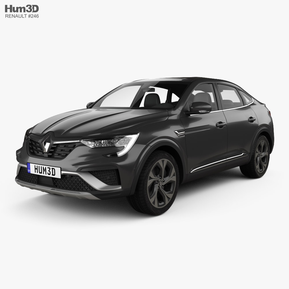 Renault Arkana RS-Line 2022 3D model