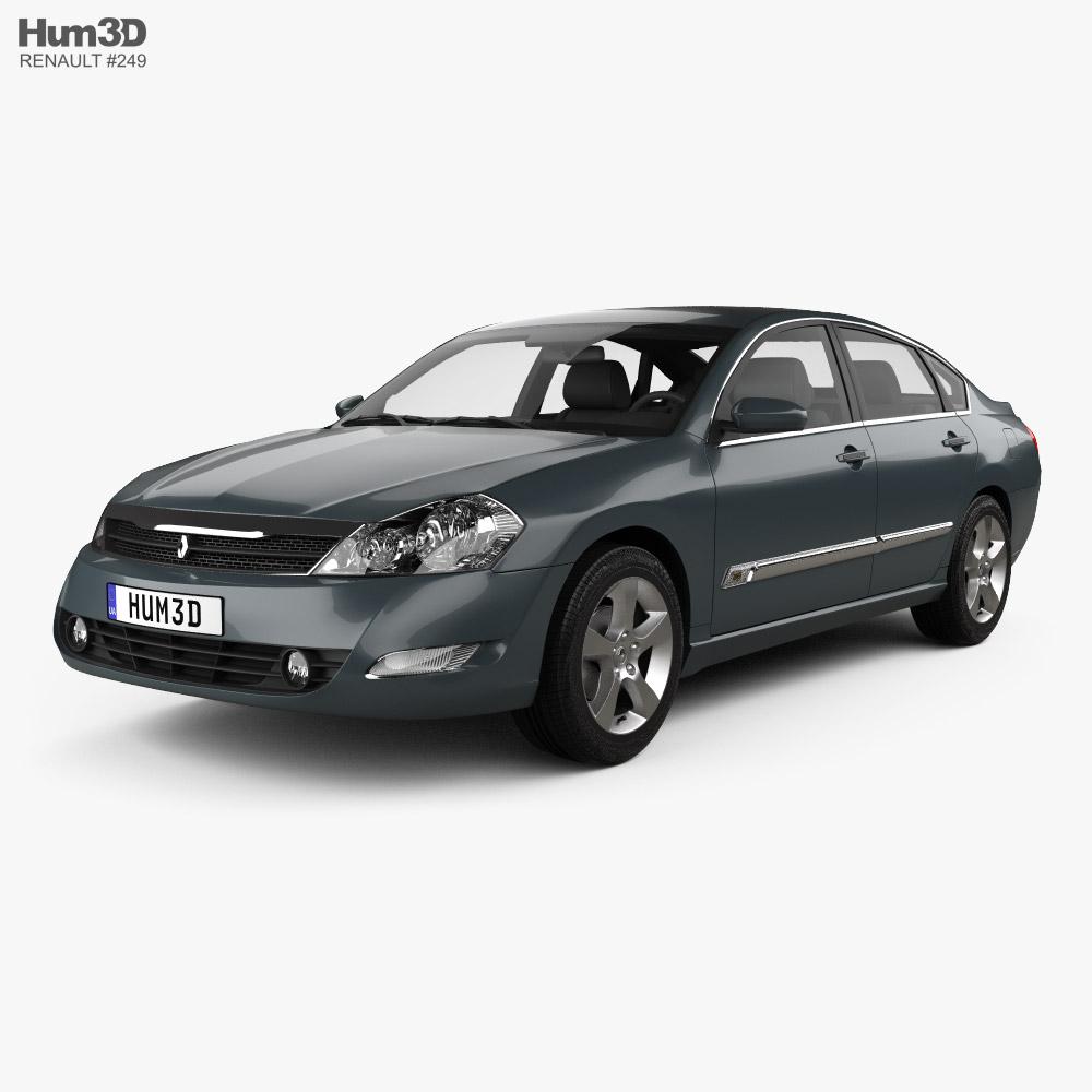 Renault Safrane 2007 3D model