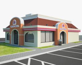 3D model of Taco Bell Restaurant 01