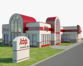 3D model of Arby's Restaurant 02