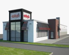 3D model of Arby's Restaurant 03