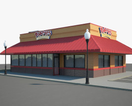 3D model of Popeyes Luisiana Kitchen 02