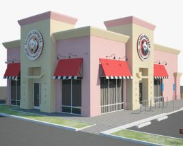 3D model of Panda Express Restaurant 01