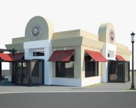 3D model of Panda Express Restaurant 02