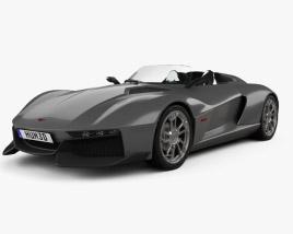 3D model of Rezvani Motors Beast 2015