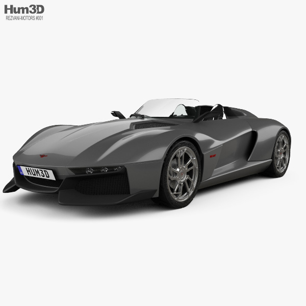 Rezvani Motors Beast 2015 3D model