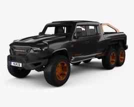 Rezvani Motors Hercules 6x6 2021 3D model