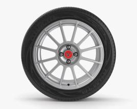 Abarth 23英寸轮辋 3D模型