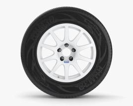 Braid Fullrace A 16英寸轮辋 001 3D模型