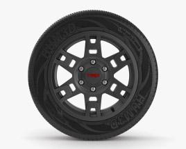 Toyota 4Runner TRD Pro 汽车轮辋 3D模型