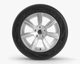Volkswagen 16 inch rim 001 3D model