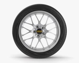 BBS RS Roda Modelo 3d