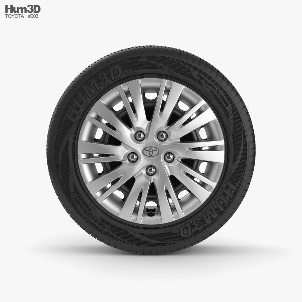 Toyota Rim 001 3D model