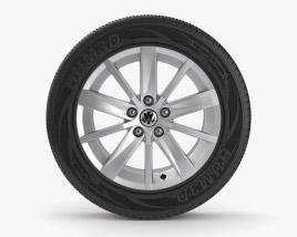 Volkswagen Llanta de 19 pulgadas 001 Modelo 3D