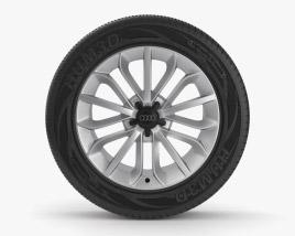 Audi 20 inch rim 001 3D model