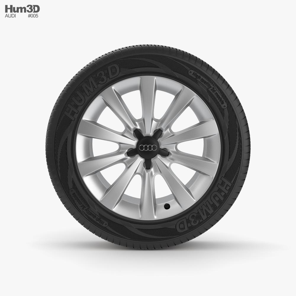 Audi Rim 002 3D model