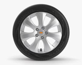 Chevrolet Cruze 19 inch rim 001 3D model