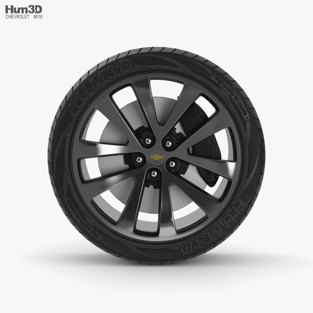 Chevrolet Malibu Wheel 3D model