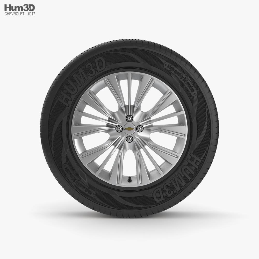 Chevrolet Wheel 02 3D model