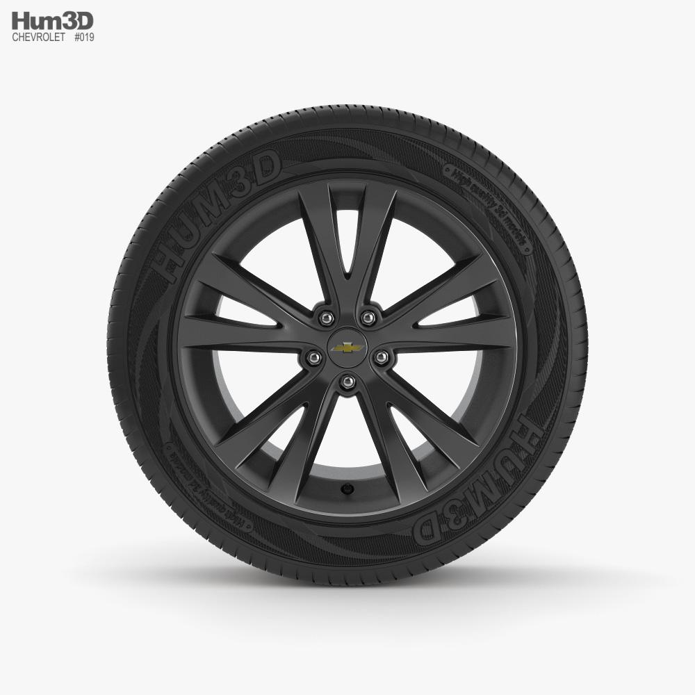 Chevrolet 18 inch rim 001 3D model