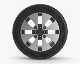 Kia Wheel 001 3D model