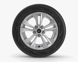 Hyundai Llanta 003 Modelo 3D