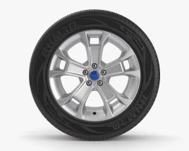 Ford 21 inch rim 001 3D model