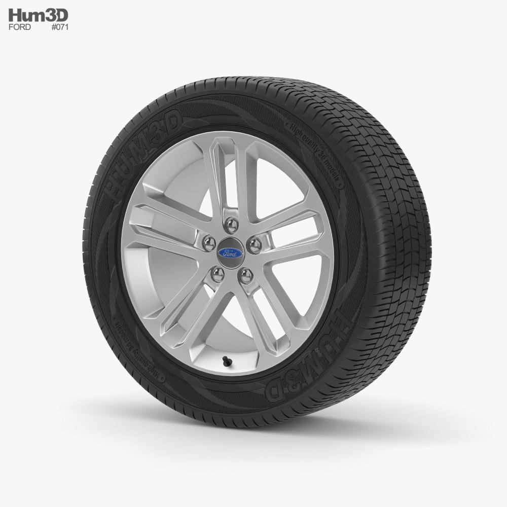 Ford Wheel 001 3d model